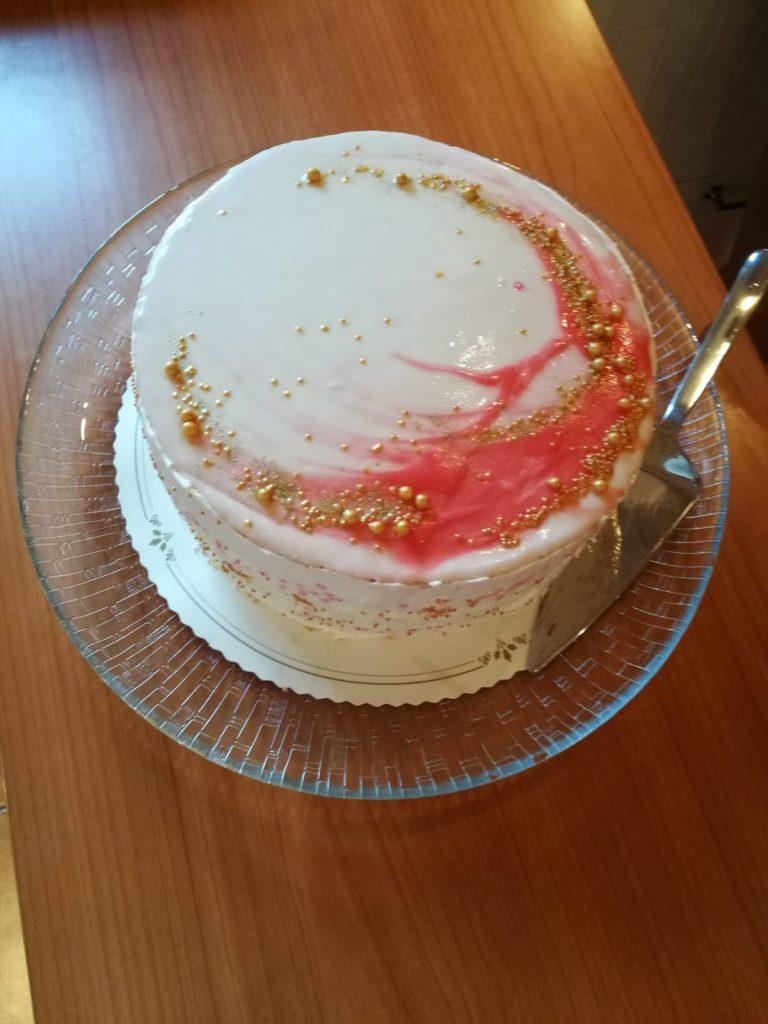 Mirror Glaze - kakku